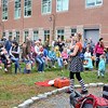"Swampscott, Swampscott HS, Harvest Festival. ""Jenny the Juggler"" (who wanted her stage name used) entertains parents and kids with multiple acts from balloon sculptures to live bunny tricks."