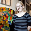 Alexandria Kruizenga, 13, poses for a photo at Raw Art Works on Friday, October 4. Kruizenga has been chosen as a Jack Kent Cooke scholar, after leaders at Raw Art Works encouraged her to apply. Item Photo / Angela Owens.