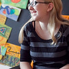 Alexandria Kruizenga, 13, talks about being chosen as a Jack Kent Cooke scholar, at Raw Art Works on Friday, October 4. Item Photo / Angela Owens.