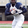 Swampscott's Jordan James (35) carries the ball during their game against Lynn English at Manning Field on Friday, October 4. Item Photo / Angela Owens.