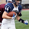 Swampscott's Michael Faia (44) carries the ball during their game against Lynn English at Manning Field on Friday, October 4. Item Photo / Angela Owens.