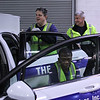 John Lewis, winner of the Champion Award,right in back, cleaning cars with folks from Bridgwell Brian MacAskill and Celstine Ejifor in the GLSS garage in Lynn. Photo by Owen O'Rourke