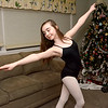 """Peabody, Sarah Fogarty, aged 11. She danced in the Northeast Youth Ballet's """"Nutcracker"""".  She was the """"naughty cookie"""" in the production."""