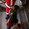 This is the second year that Nick Strange dressed as Santa and greeted people coming to the annual Nahant Holiday Fair, the 12th, at Nahant Town Hall on Saturday. Photo by Owen O'Rourke
