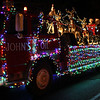 The anchor float in the Nahant Christmas parade on Saturday. Photo by Owen O'Rourke