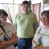 From left to right: Brittany, Paul and Elaine Chittick. Elaine, a victim of Mitochondrial Disease, hosted the Mito patients social gathering at Christopher's Cafe in Lynn on Saturday.
