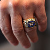 The ring that Mike Eruzione won in the Olympics. Photo by Owen O'Rourke