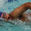 Tech's Antonio Morales swims the 200 freestyle