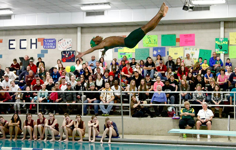 Classical's wallace kiongo soars above the packed stands