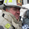 Revere Fire Chief Gene Doherty confirmed that an elderly man was killed in the 3 alarm fire at 79 Resevoir Ave. in Revere today. The fire was ruled accidental. Low water pressure was a hinderance to fighting the fire. Photo by Owen O'Rourke
