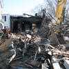 The house at 29 Oakwood Ave in Lynn was torn down on Saturday