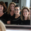 Meet some of the staff at the LuxeBeau Tique in Swampscott. From left to right are: Neysa Porter, Esthetician, Lisa Roche, Makeup artist, Andrea Contreras, Esthetician/Makeup artist, and Amy Deperrior Brackman, owner.