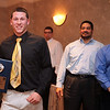 PLayers accept awards at St Mary's football banquet at Spinelli's Tuesday January 12, 2010.