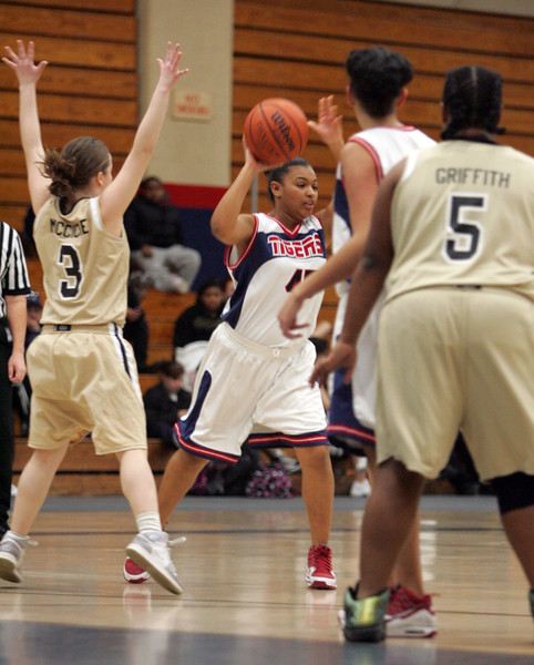Tech's Mya Sewell and Minuteman Tech in Lynn Tuesday January 12, 2010. Item Photo/ Reba M. Saldanha