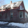This house at 157 Jackson Street in Lynn--new abandoned--was use by the Lynn Fire Department for training on Thursday.