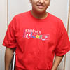 Chris Barreda will sing in the Children's Chorus on Monday.