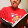 Chris Barreda of Lynn will sing in the Children's Chorus on Monday