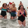 The 4th annual Polar Bear Plunge was held at the Swampscott Yacht Club on Friday.