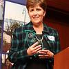 Dotti Thibodeau, winner of the Lynn City Pride Award.