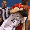 Stephen Haladyna rebounding