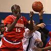 Terrence Pight, 15, Burt Mackenzie, 41, rebounding
