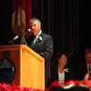 State Senator Thomas M. McGee speaks during the City of Lynn Inaugural Exercises January 4, 2010 at Lynn Veterans Memorial Auditorium at City Hall. Item Photo/ Reba M. Saldanha