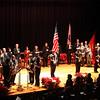 The Star Spangled Banner during the Cityof Lynn Inaugural Exercises January 4, 2010 at Lynn Veterans Memorial Auditorium at City Hall. Item Photo/ Reba M. Saldanha