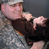 Jimmy Giuffre having fun with his son Jim --East Boston-- before being deployed.