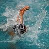 Lynn Tech swimmer Gabriel Salazar-Poou competes against Minute Man Tech in Lynn Wednesday January 6, 2010. Item Photo/ Reba M. Saldanha
