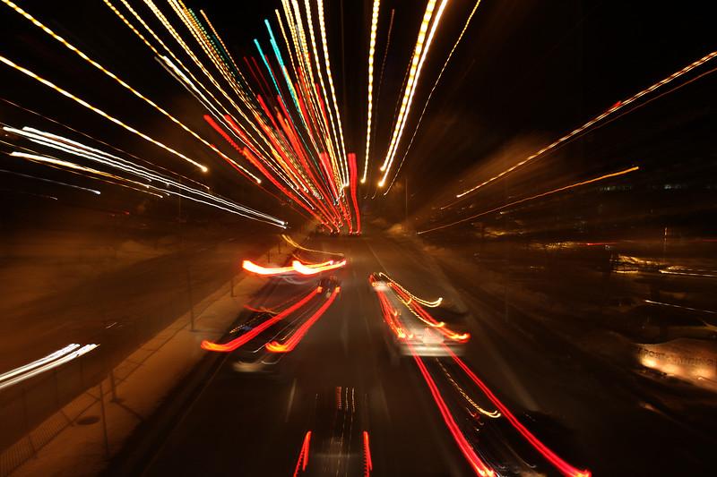 Traffic on the Lynnway.