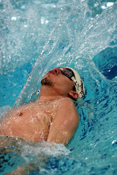 Eddie Holand, Lynn English, back stroke