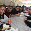 Table shots during the Lynn English High School footbal banquet Sunday January 31,2010. Item Photo/ Reba M. Saldanha
