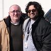Colin Barker, left, and Anil Barretto.