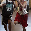 The NEC middle school basketball tournament final between Brreed Middle School and Thurgood Marshall Middle School at Marshall Middle School in lynn Thursday February 11, 2010. Item Photo/ Reba M. Saldanha