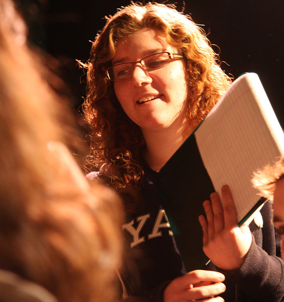 Marysa Angelli, a student at Lynn English High, is directing and producing a play called The Dining Room.