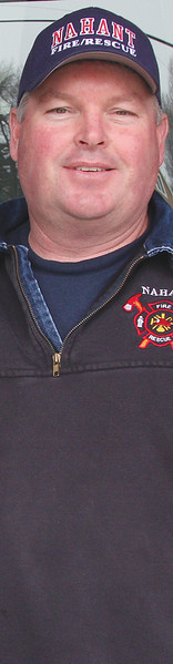 Kevin Howard, acting ire chief in Nahant.