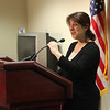 Dr Elizabeth Englander gave a cyber bullying workshop at the District Attorney's office in Salem today.