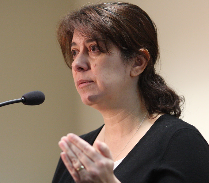 Dr Elizabeth Englander gave a cyber bullying workshop today at the District Attorney's office in Salem.