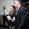 Patricia Talbot, mother of Daniel, leaves the courtroom after the conviction of Robert Iacoviello and James Heang in the murder of Revere police officer Daniel Talbot at Sufflok Superior Court Tuesday February 2, 2010. Item Photo/ Reba M. Saldanha