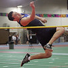 Swampscott's Zach Sinrich at the NEC track meet at the Reggie Lewis Center in Roxbury Thursday February 4, 2010. Item Photo/ Reba M. Saldanha