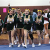 The Lynn Classical cheerleading team take to the floor to compete in this years Northeastern Conference Cheerleading Competition at English High on Saturday.
