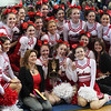 Saugus took first place NEC Varsity Hockey Cheerleader competition on Saturday at English High.