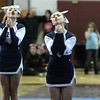 Swampscott High competing at the Northeastern conference Cheerleading Competition at English High on Saturday.