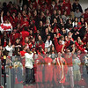 Marblehead fans during the Eastern Mass Division 3 final at Harvard's Bright aRena Wednesday March 10, 2010. Item Photo/ Reba M. Saldanha