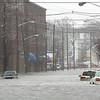 Foster Street in Peabody Center Monday March 15, 2010. Item Photo/Reba M. Saldanha