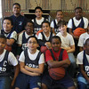The Ford School basketball team. Front row Left to right: Calvin Johnson, Joniel Difo, Carlos Herrera, Jaylen Johnson. Middle row: Josue Matul, Melvin Nieves, Melvin Deleon, David Kable, and Dantai Robertson. Back row: Aramis Llano, Anthony Persez, Jose Echavarria, and Jafari Peterson.