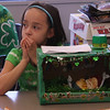 Jasli Maldonado and her leprechaun trap.
