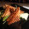 Lynn Chef Dorothy Kaiser's lobster panini at Turbine Wine Bar in Lynn's Central Square. Item Photo/ Reba M. Saldanha