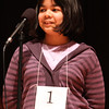 Amber Born, Grade 5, Born Family Home School is the winner of this year's spellling bee.