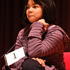 Amber Born upon winning this years spelling bee.